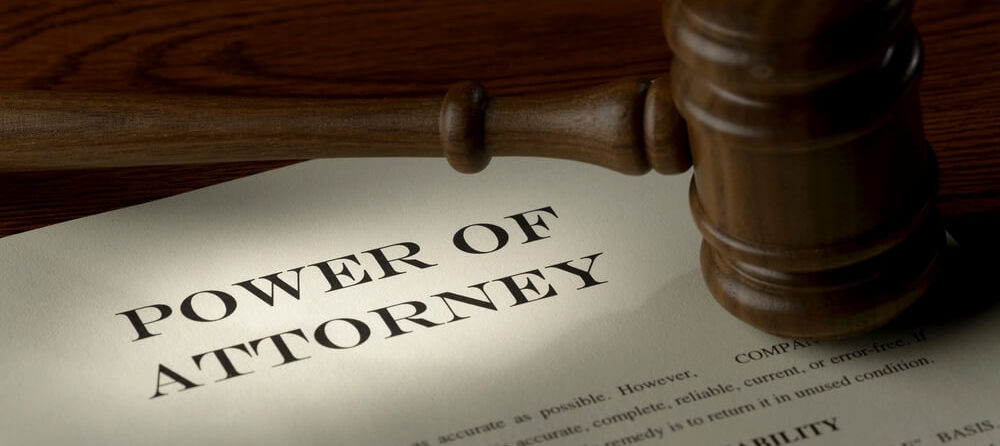 Power of Attorney and Debt